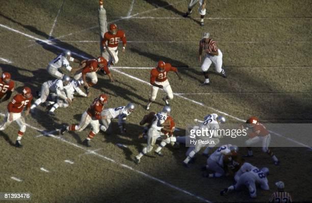 Buffalo Bills in action vs Dallas Texans Dallas TX