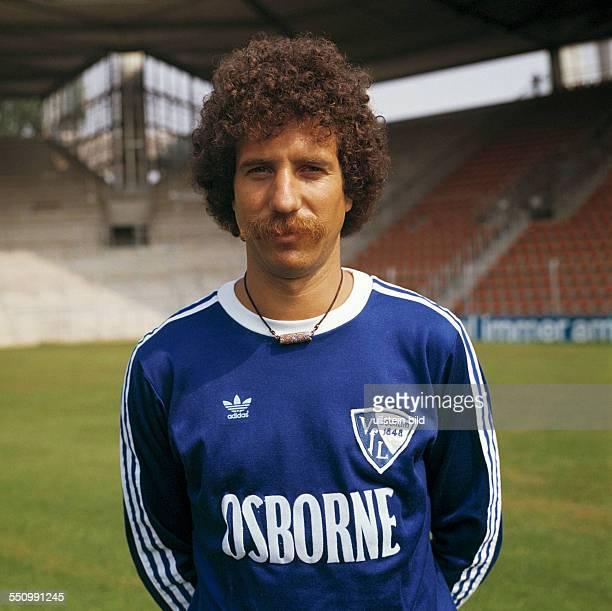 football Bundesliga 1977/1978 VfL Bochum team presentation portrait Klaus Franke