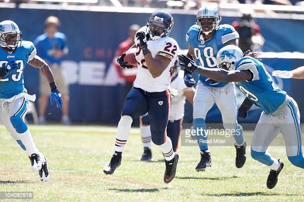 Chicago Bears Matt Forte in action rushing vs Detroit Lions Chicago IL 9/12/2010 CREDIT Peter Read Miller