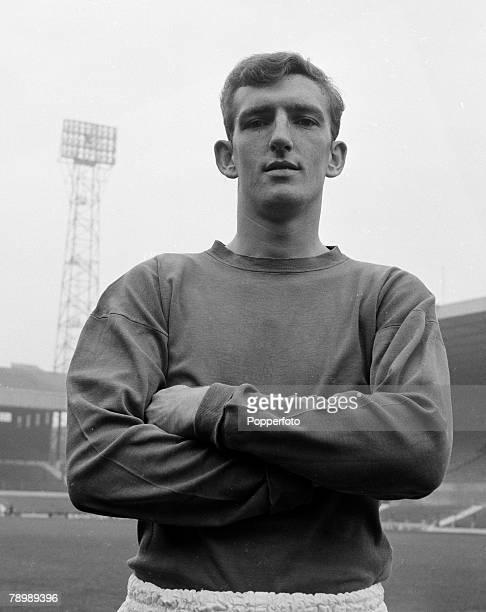 Football Circa 1960/70's Portrait of Alex Stepney Manchester United goalkeeper