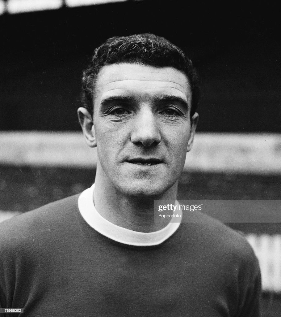 Football. Circa 1960's. Portrait of Bill Foulkes of Manchester United. : News Photo