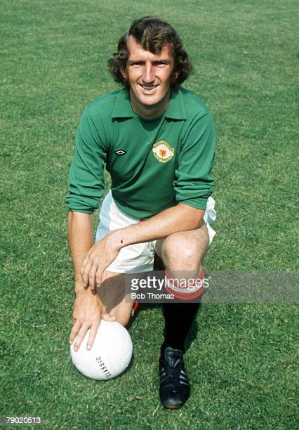 Football Circa 1970 Manchester United goalkeeper Alex Stepney