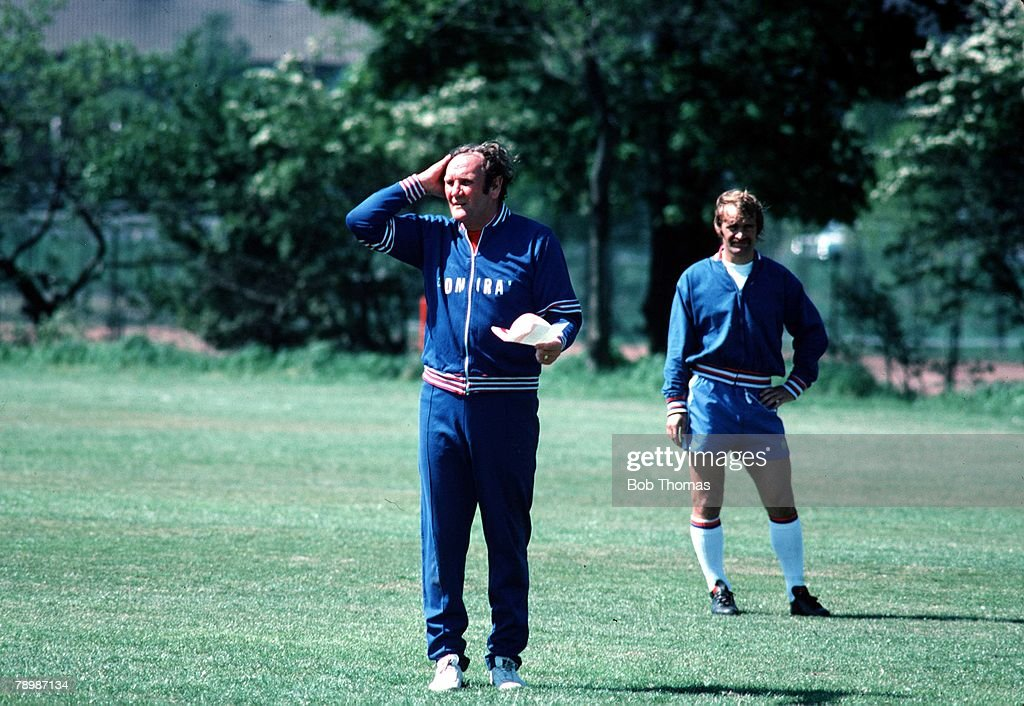 Football. Circa 1970's. Don Revie the England Manager. : News Photo