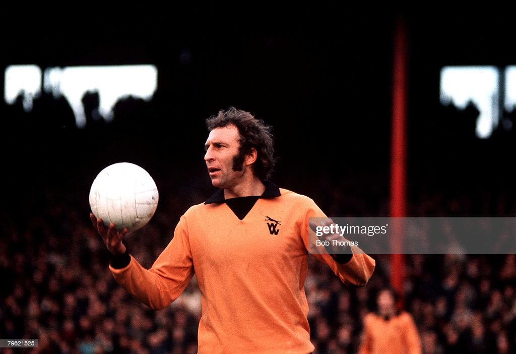 Football, Circa 1970's, Mike Bailey of Wolverhampton Wanderers