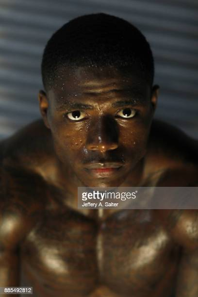 Closeup portrait of Cleveland Browns wide receiver Josh Gordon posing during photo shoot Gordon has been reinstated from an indefinite suspension...