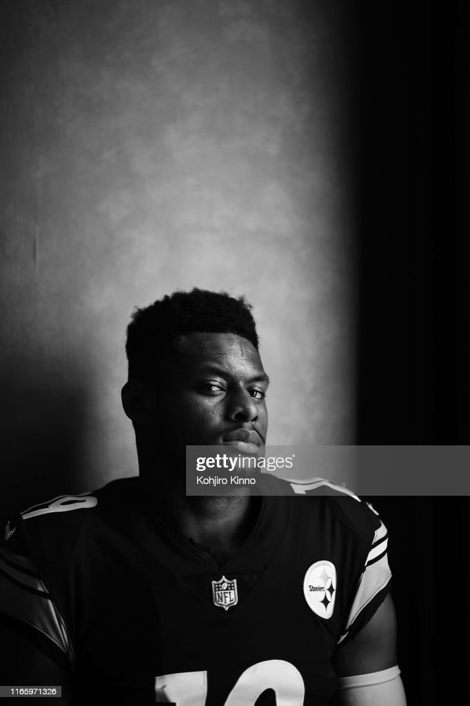 Closeup Portrait Of Pittsburgh Steelers Wide Receiver Juju News Photo Getty Images