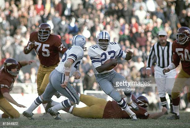 Football Dallas Cowboys Bob Hayes in action vs Washington Redskins Dallas TX