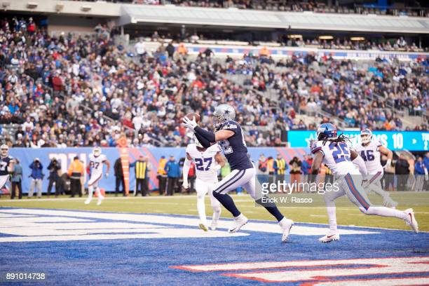 Dallas Cowboys Jason Witten in action making touchdown catch vs New York Giants at MetLife Stadium East Rutherford NJ CREDIT Erick W Rasco