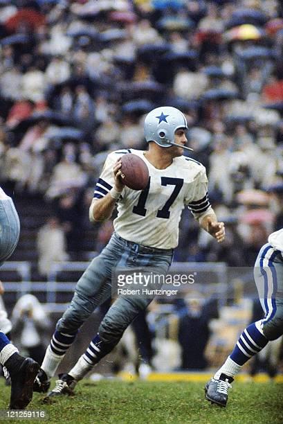 Dallas Cowboys QB Don Meredith in action vs Pittsburgh Steelers at Pitt Stadium Pittsburgh PA CREDIT Robert Huntzinger