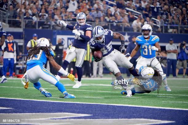 Dallas Cowboys Rod Smith in action rushing vs Los Angeles Chargers at ATT Stadium Arlington TX CREDIT Greg Nelson