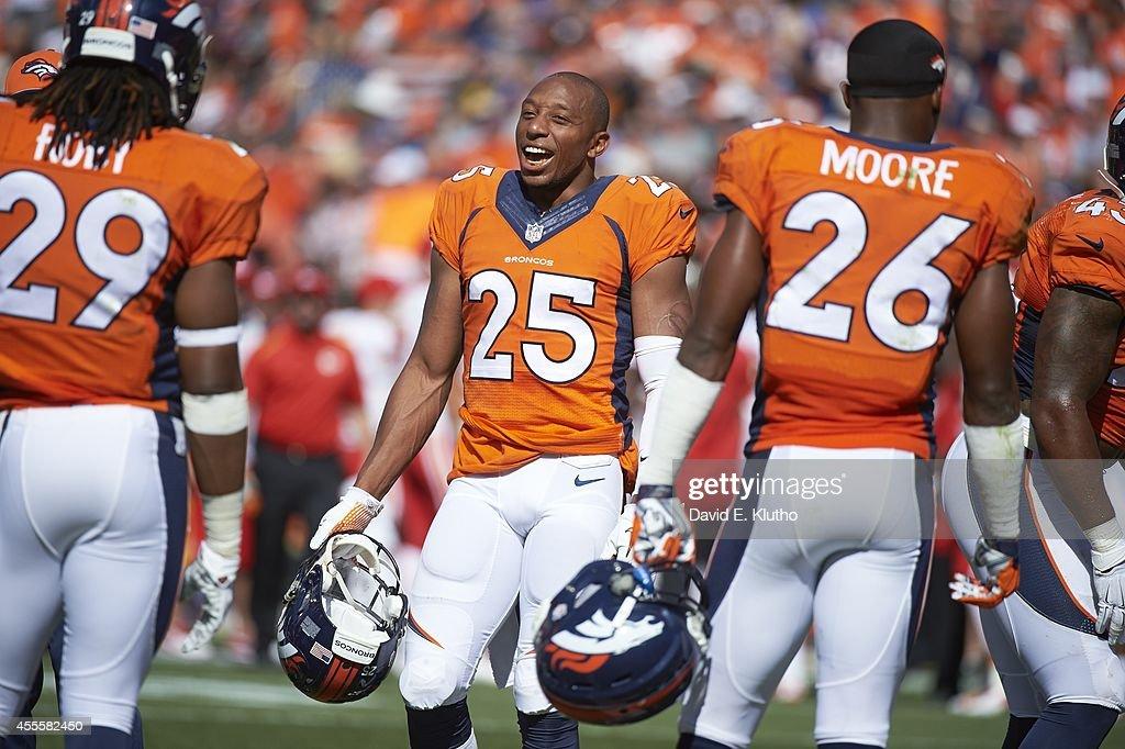 Denver Broncos Chris Harris Jr During Game Vs Kansas City Chiefs At