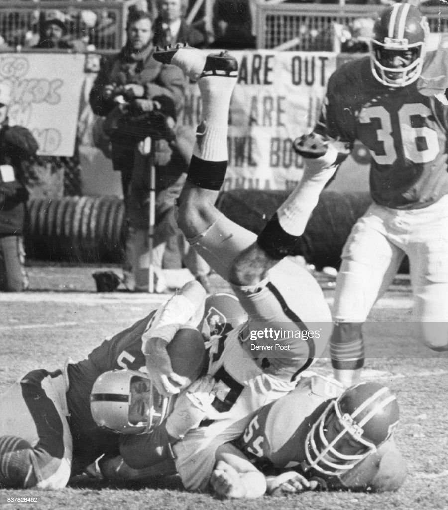 Denver Broncos Linebackers Randy Gradishar And