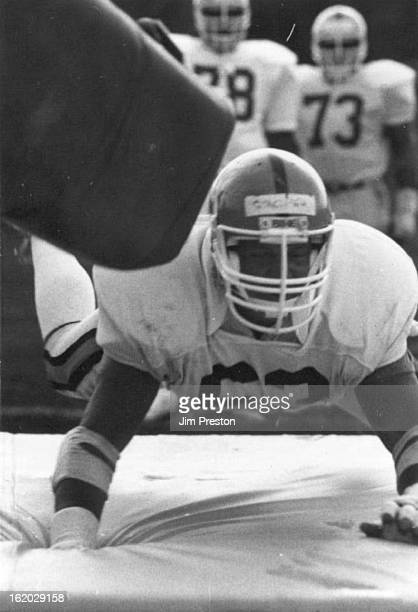 JUL 18 1983 JUL 19 1983 Football Denver Broncos Training Camp