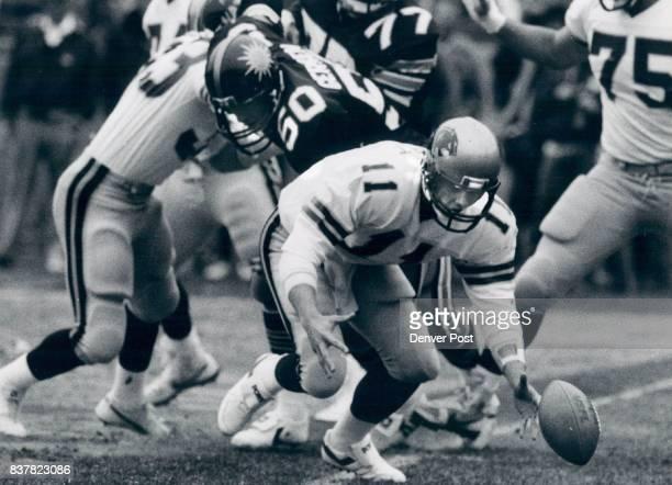 Football Denver Gold Panthers 28 Gold 0 Credit The Denver Post