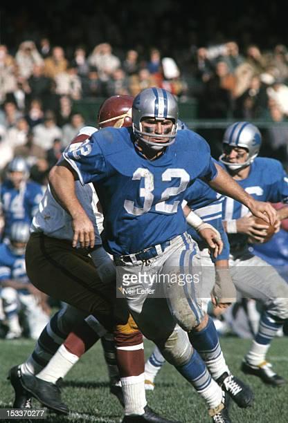 Detroit Lions Joe Don Looney in action vs Washington Redskins at Tiger Stadium Detroit MI CREDIT Neil Leifer