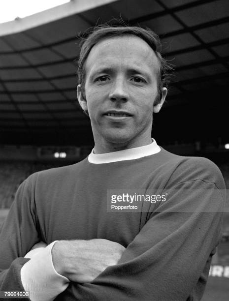 Football, England, 26th July 1968, Nobby Stiles of Manchester United poses for a portrait