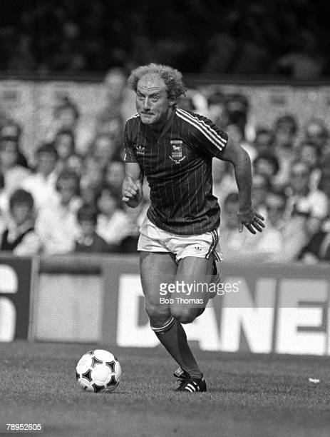 Football English League Division One 4th September 1982 Ipswich Town 1 v Coventry City 1 Ipswich Town's Alan Brazil on the ball