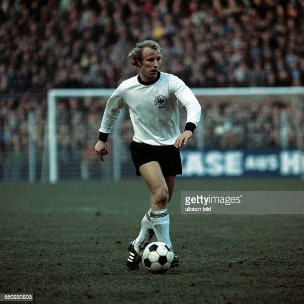 football European championship qualifying group 8 return leg Westfalen Stadium Dortmund Germany versus Malta 80 scene of the match Berti Vogts in...