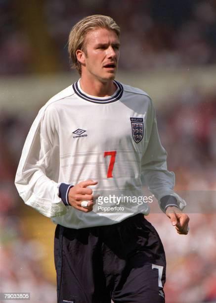 Football European Championships 2000 Qualifier Wembley England 6 v Luxembourg 0 4th September England's David Beckham