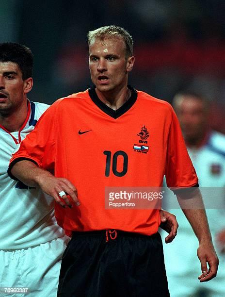Football, European Championships , Amsterdam Arena, Holland, Holland 1 v Czech Republic 0, 11th June Holland+s Dennis Bergkamp