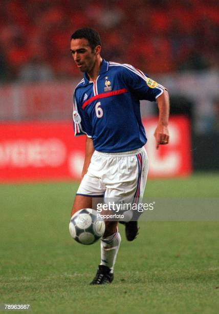 Football European Championships Amsterdam Holland 21st June Holland 3 v France 2 France's Youri Djorkaeff