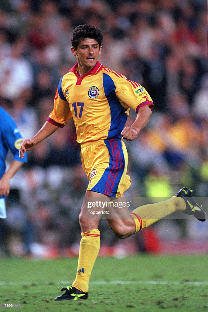 Football, European Championships Quarter Final, (EURO 2000), Brussels, Belgium, 24th June, 2000, Italy 2 v Romania 0, Romania's Miodrag Belodedici