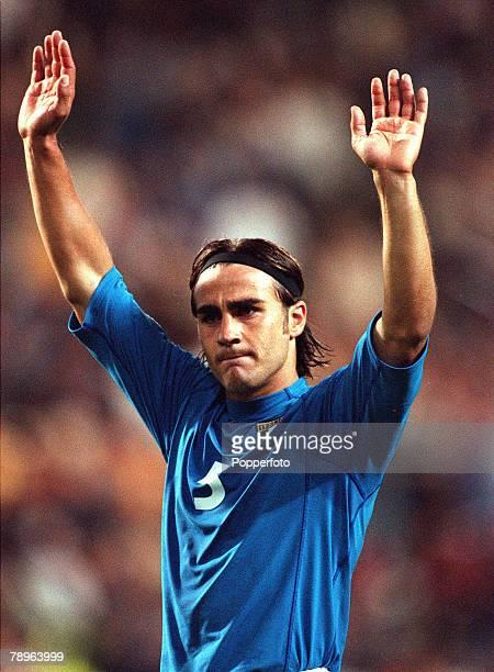 Football, European Championships Quarter Final , King Baudouin Stadium, Brussels, Belgium, Italy 2 v Romania 0, 24th June Italy+s Fabio Cannavaro...