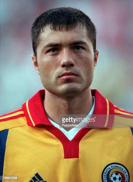 Football European Championships Stade du Pays de Charleroi Belgium England 2 v Romania 3 20th June A portrait of Romanias Adrian Ilie