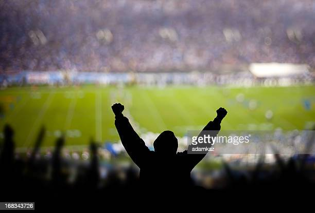 football excitement - football stockfoto's en -beelden