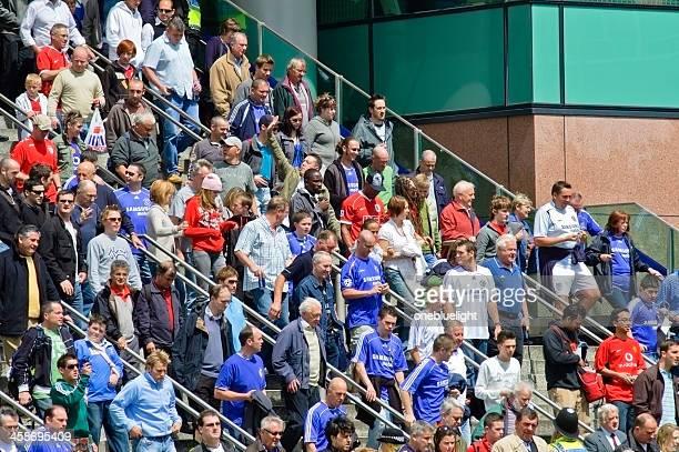 Football Fans Heading to Stadium