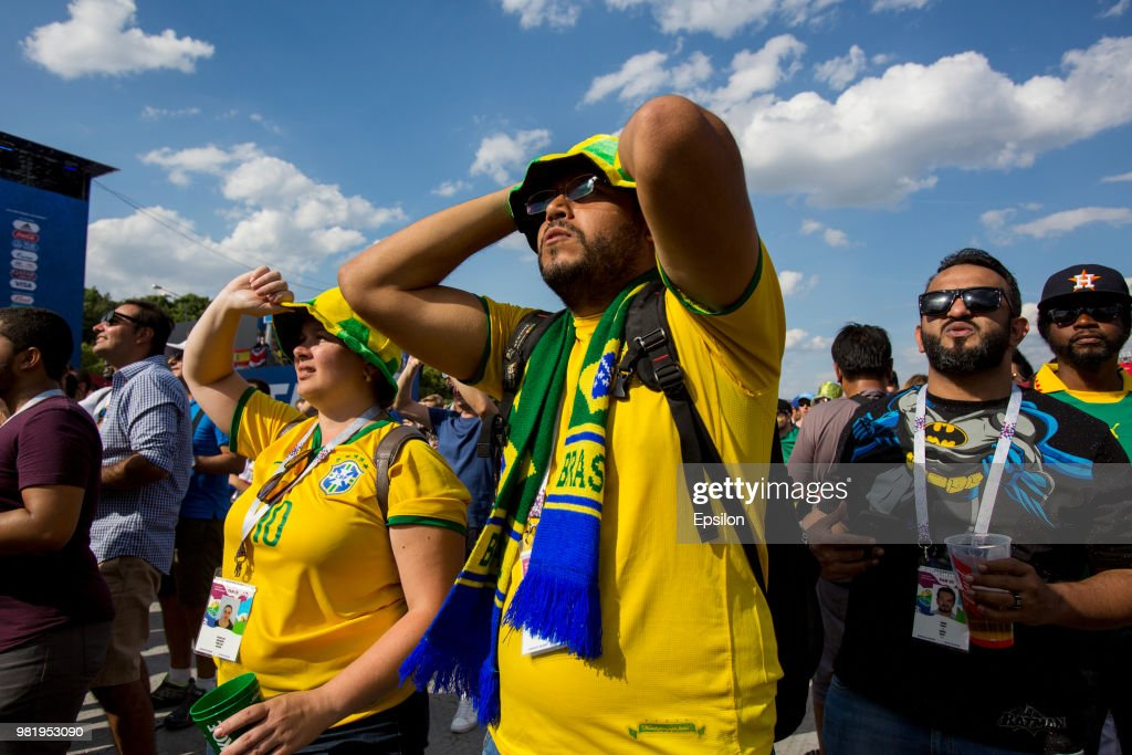 Football Fans At The 2018 FIFA World Cup Russia