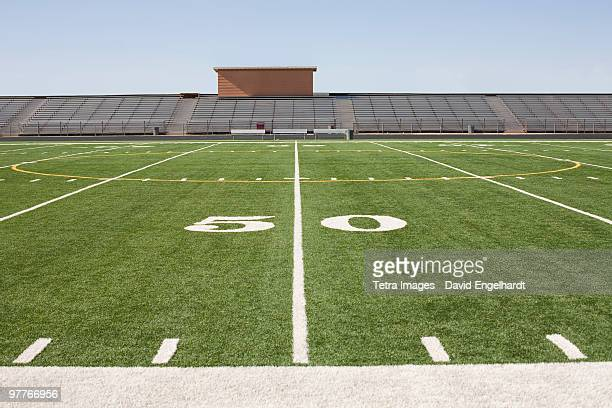 football field and stadium - football field stock pictures, royalty-free photos & images