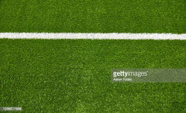 football field - turf stock pictures, royalty-free photos & images