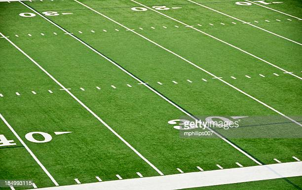 football field - football field stock pictures, royalty-free photos & images