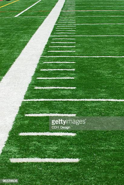 Football Field Yards Stock Pictures Royalty Free Photos Images Getty Images