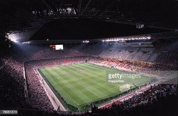 Football, FIFA Confederations Cup, 1st June 2001, Ulsan, Korea, Korea Republic 2 v Mexico 1, A spectacular panoramic view of the Ulsan Munsu Football...