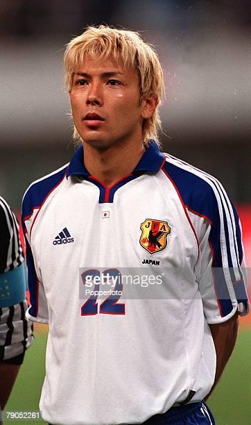 Football, FIFA Confederations Cup, 2nd June 2001, Niigata, Japan, Cameroon 0 v Japan 2, Japan's Takayuki Suzuki