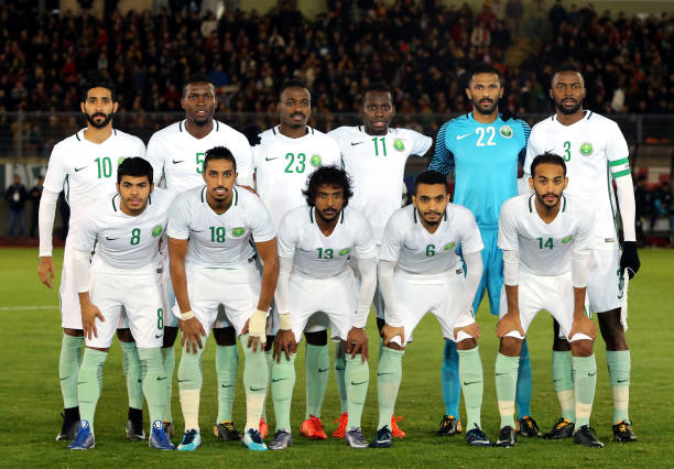 World Cup 2018 Saudi Arabia Pictures