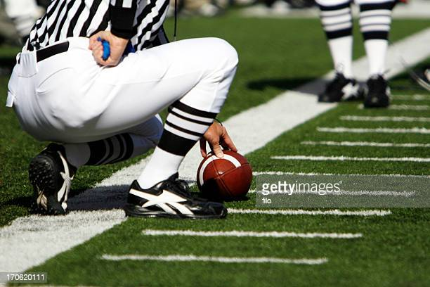 football first down - american football referee stock pictures, royalty-free photos & images