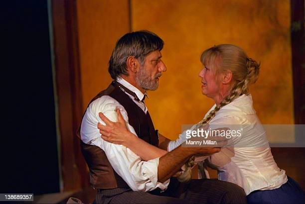 Former New York Jets QB Joe Namath on stage during performance of Anton Chekhov's play, The Seagull, at the arcLight Theater. New York, NY 6/24/1997...