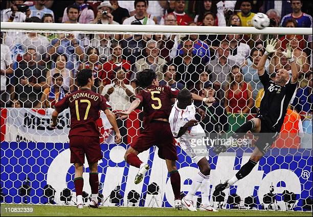 Football France Qualified For Fifa World Cup Final After Defeating Portugal 1 0 In Munich Germany On July 05 2006 Goal keeper Fabien Barthez in action
