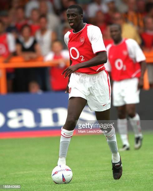 Football friendly - Barnet v Arsenal, Yaya Toure playing for Arsenal.