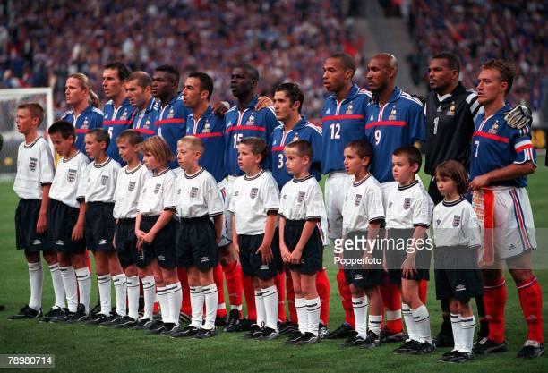 Football, Friendly International, Stade de France, Paris, France, 2nd September 2000, France 1 v England 1, The World and European Championship...