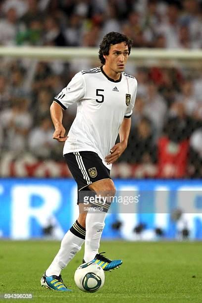 Mats Hummels Deutschland Fussball Nationalmannschaft FReundschaftsspiel Deutschland Brasilien 3 2 1082011 football friendly match Germany Brasil