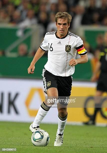 Phlipp Lahm Deutschland Fussball Nationalmannschaft FReundschaftsspiel Deutschland Brasilien 3 2 1082011 football friendly match Germany Brasil