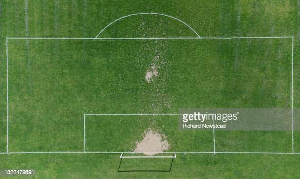 football goal - sport venue stock pictures, royalty-free photos & images