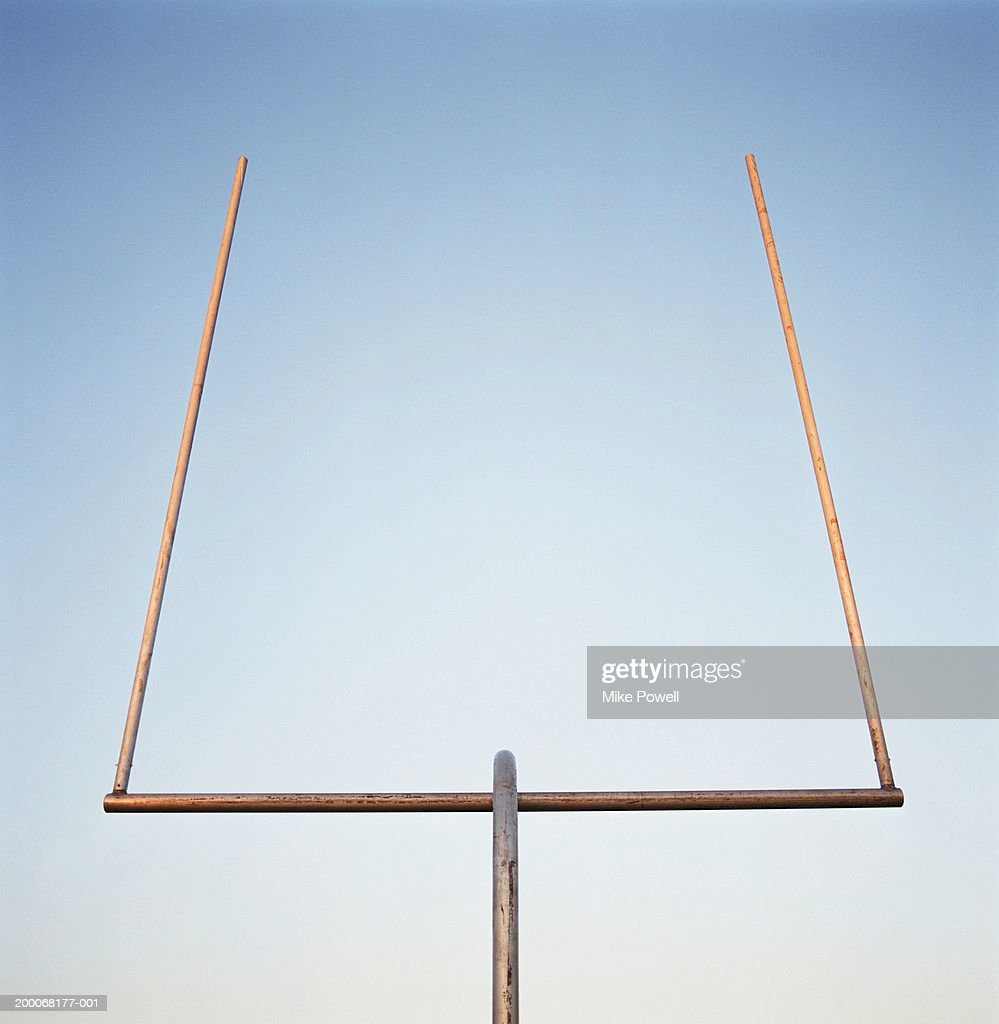 Football goal post : Stock Photo