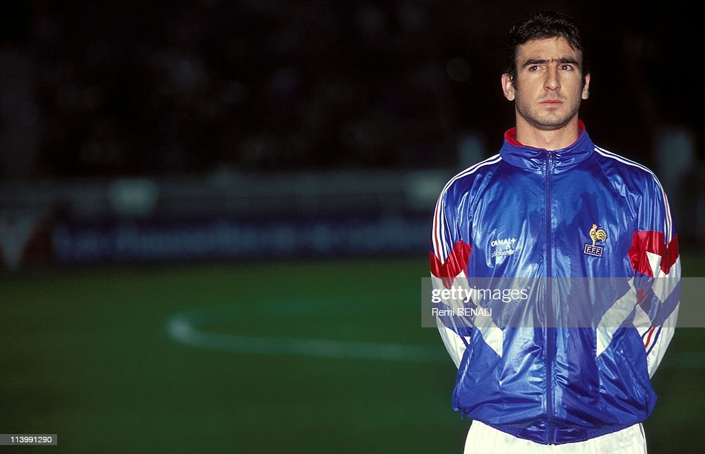 "Football/ ""Grand Chelem"" french team match against Island (3 A 1) In France On November 20, 1991- : News Photo"