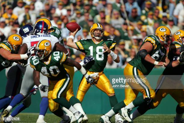 Green Bay Packers QB Doug Pederson in action vs New York Giants at Lambeau Field Green Bay WI CREDIT John Biever