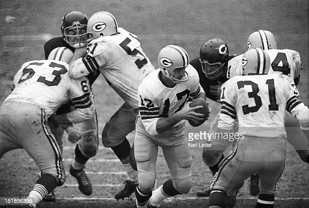 Green Bay Packers QB Zeke Bratkowski in action vs Chicago Bears at Wrigley Field Chicago IL CREDIT Neil Leifer